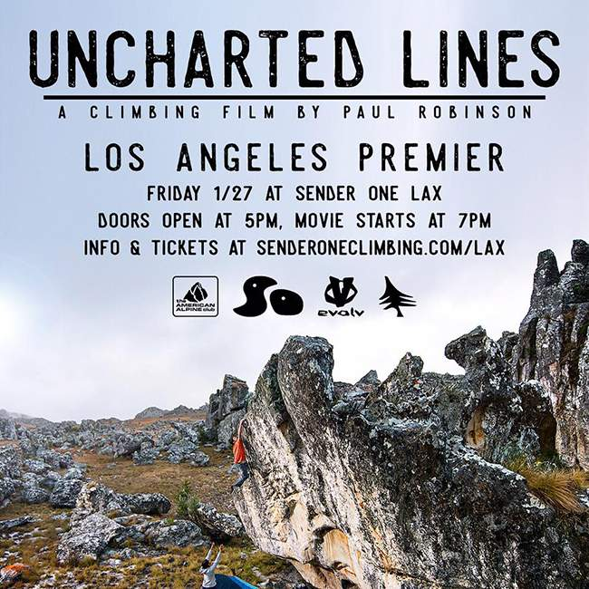 Uncharted Lines